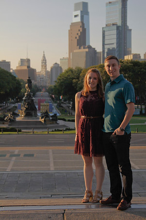 Katie and Mark Philly 082117