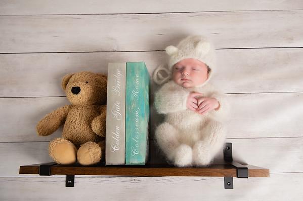 Teddy Newborn Creative Images