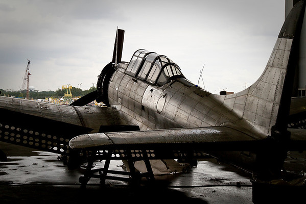 Coming Together to Preserve an Old War Bird