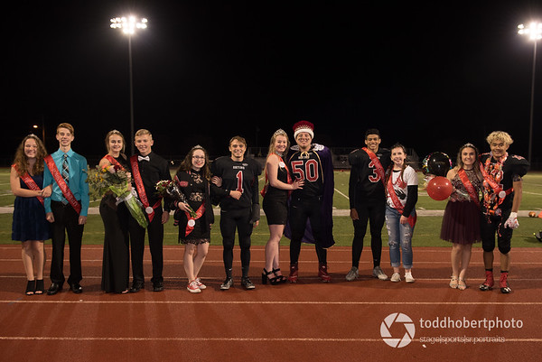 OHS Homecoming Court 2017