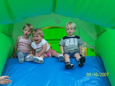 Triplet 2nd Birthday