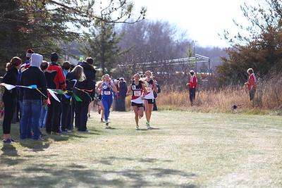Girls 4 km Start and Lap