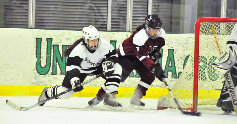 WUHS Girls Hockey vs Northfield
