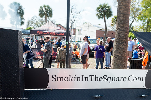 2017 Smokin in the Square Barbecue Competition