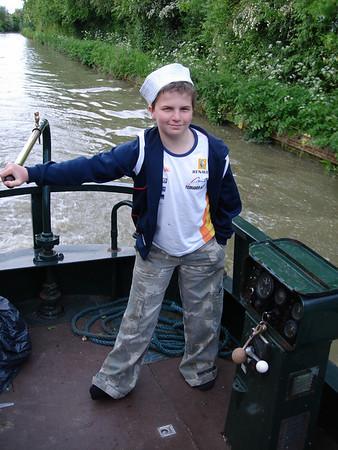 Narrowboating on Rosanne