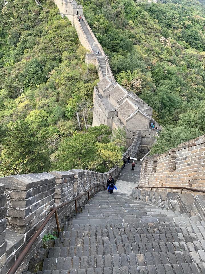 Steep walk to Watch Tower 1