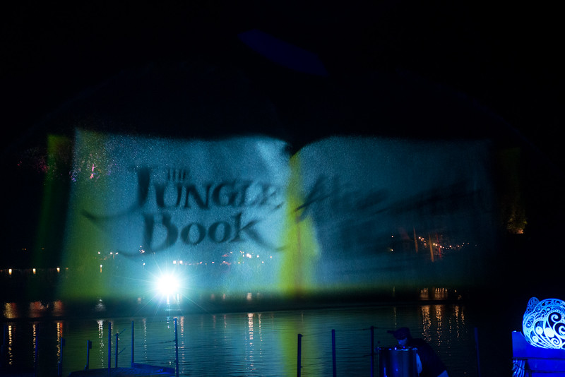 Jungle Book: Alive with Magic Water Projection - Disney's Animal Kingdom, Walt Disney World