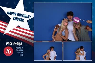 Codyak 16th Bday