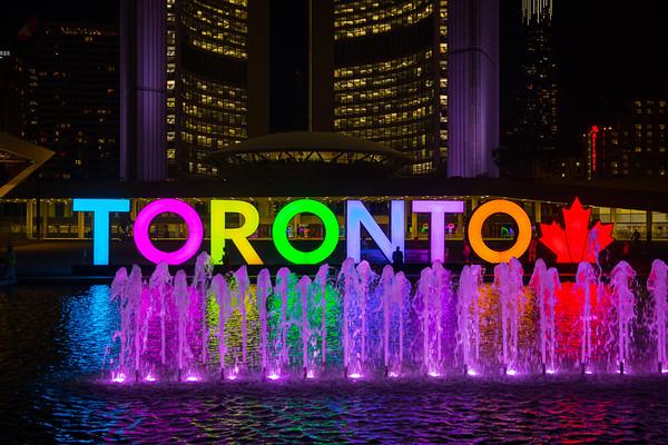Toronto Streets & Buildings
