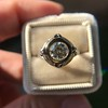 1.02ct Round Brilliant Diamond Bezel Ring 5