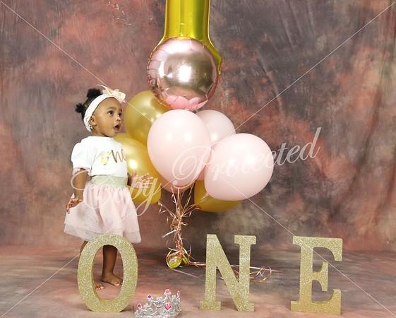 Ryleigh 1st Birthday