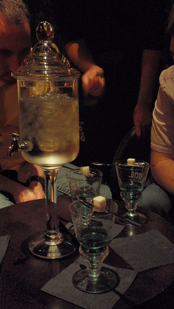 Abstain from Absinthe