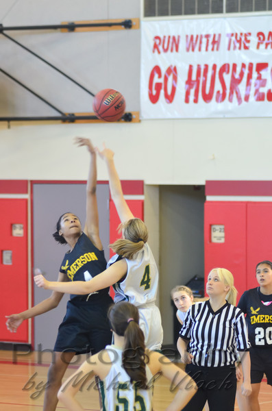 2012 CA Jacobs 8th Grade Girls YCAL vs Emerson