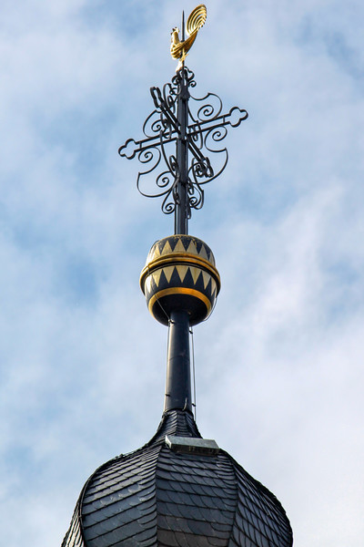 One of the beautiful things you see when you look up in Heidelburg