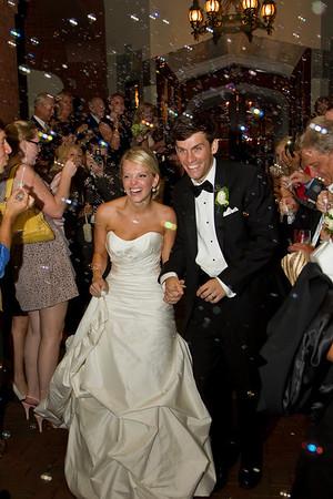 Kristina &  Andrew Dawson Reception