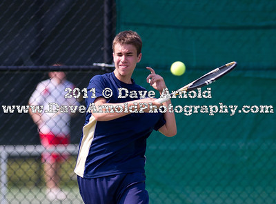 6/8/2011 -MIAA Division 1 South Semi-Finals - Boys Varsity Tennis - Bridgewater-Raynham vs Needham