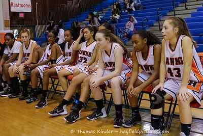 Girls Frosh Basketball vs Madison 12/13/16