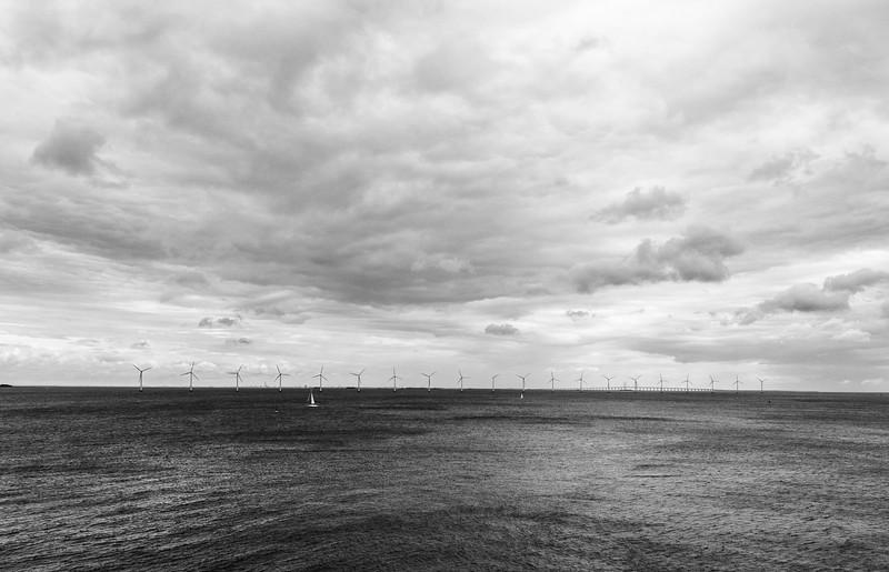 Harbor between Copenhagen and Malmo, Sweden