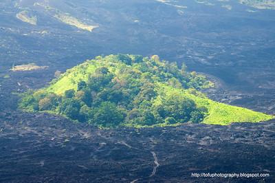 Gunung Batur volcano  - June 2011