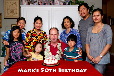 Mark's 50th: August 18, 2011