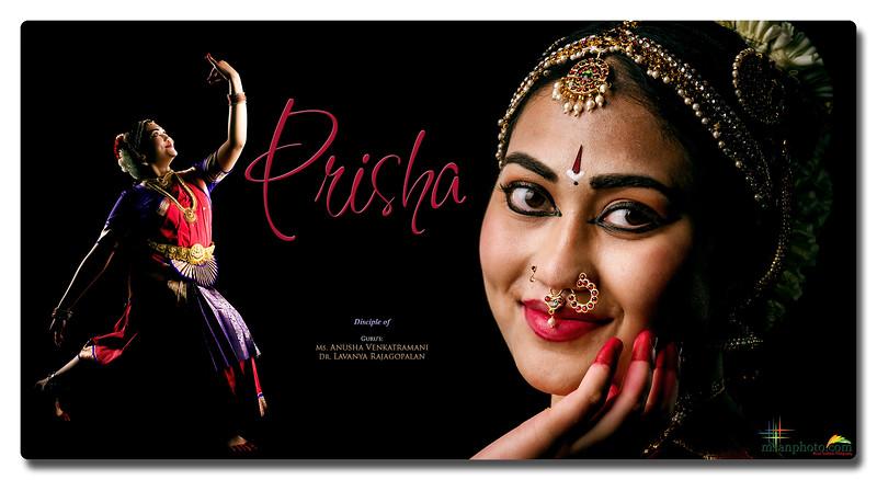 Prisha's Pre-Arangetram Portraits 2021