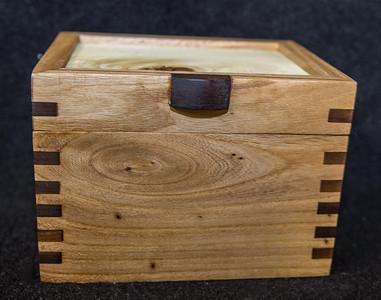 Unique: Montana Made Elm and Walnut Boxes $30