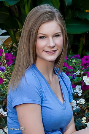 Senior Class Photos [d] Ashley K - Head Shots