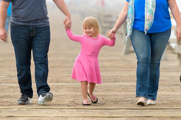 Nikki & Glenn Family @ Capitola Beach