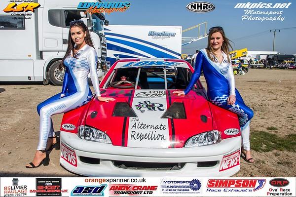 National Hot Rod Grid Girls, Skegness, 19 April 2019