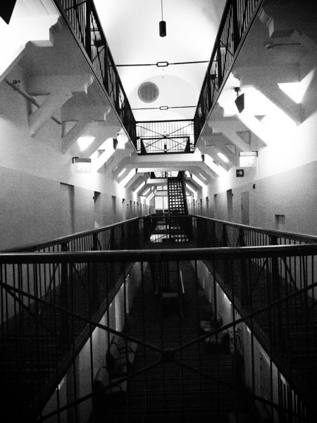 jail hotel hallway bw.jpg