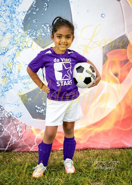 da Vinci STARS Purple - TNYMCA Soccer Spring 2016