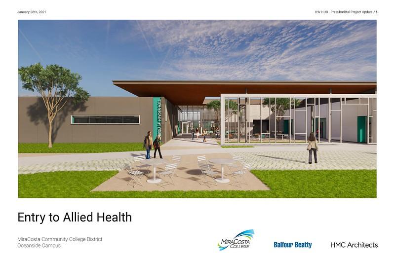 Design complete for new Nursing & Allied Health BuildingDesign complete for new Nursing & Allied Health Building