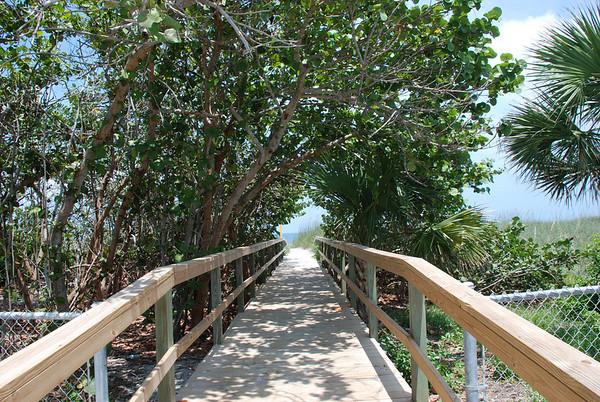 Cocoa Beach Palm Street access