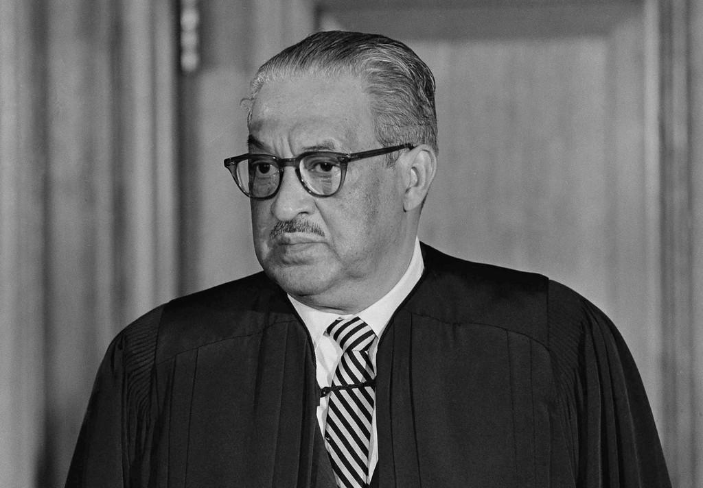 . Thurgood Marshall of the US Supreme Court on April 20, 1972. (AP Photo/John Rous)