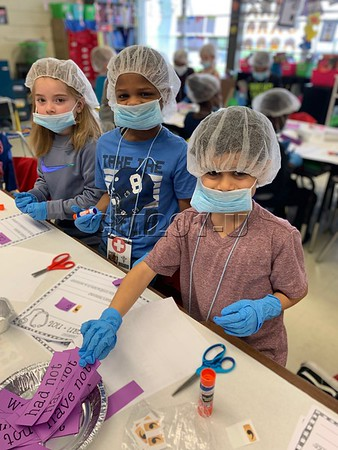 1st Grade Contraction Sugery and Carrer Day