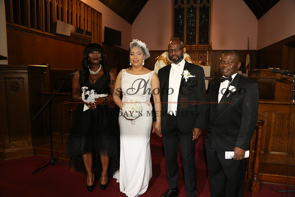 THE WEDDING CEREMONY BETWEEN JOSEPH N. SEIBURE  AND JAMELIA B. ALI WAS HELD AT ST. ANDREW'S EPISCOPAL CHURCH 1832 JAMES AVE. NORTH MINNEAPOLIS, MN. 55411 ON MARCH 22nd,2019. PHOTO BY: TARNUE'S PHOTO & VIDEO 612.913.2831/612.702.3411