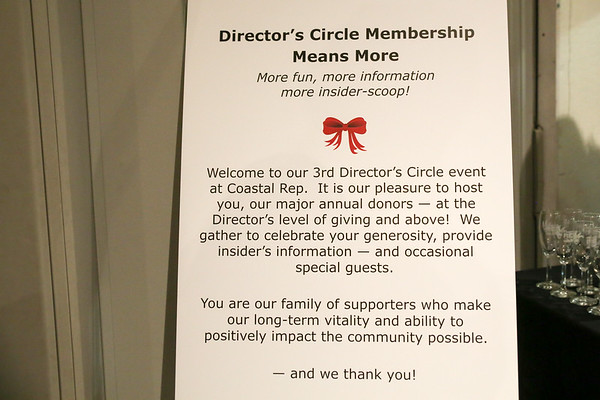 Coastal Rep Directors Circle, Dec. 2018
