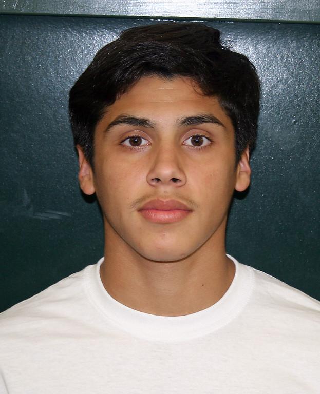 . Johnny Parada, Player of the Year, San Fernando High School.