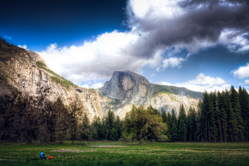 Old Couple of Yosemite Valley  It was pretty refreshing seeing this old couple pull out some chairs to just sit and soak up the beauty around them. You don't see people doing this much anymore.  Learn more about my photography at AlikGriffin.com
