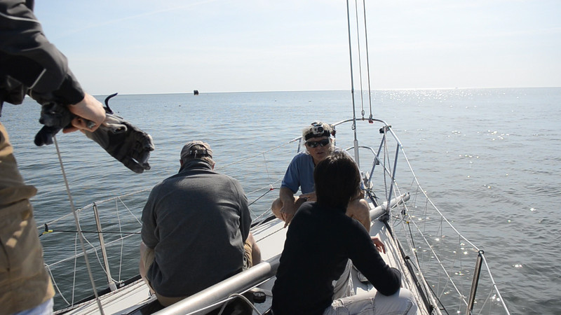 4/14 Opening Day Foredeck meeting.
