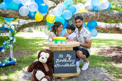 Aabir's 2nd birthday
