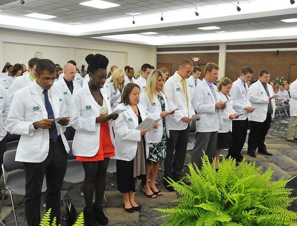 School of Pharmacy White Coat Ceremony - August 2012