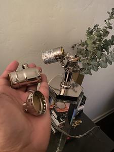 2021.04.23 Nightstand lamp dimmer repair