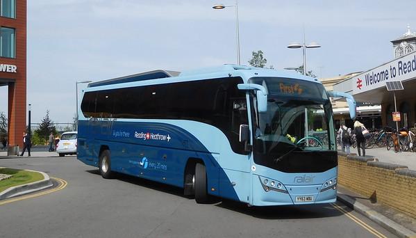 Volvo B7R + Scania coaches