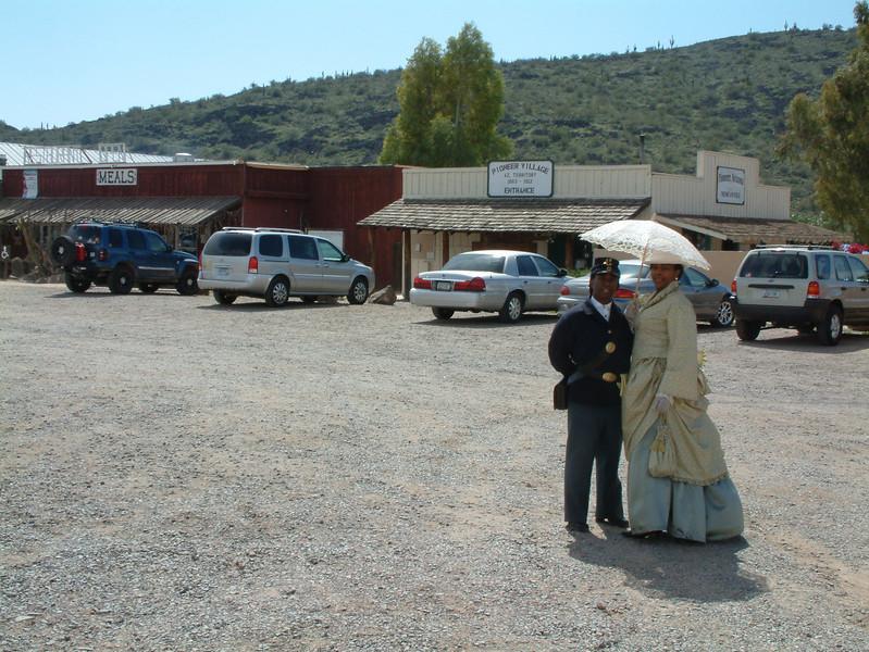 "ARIZONA BUFFALO SOLDIERS, MESA, AZ...Pioneer Village Arizona Territory, 1863 - 1912."" Buffalo Soldiers of the Arizona Territory - Ladies and Gentlemen of the Regiment. March 14, 2009"