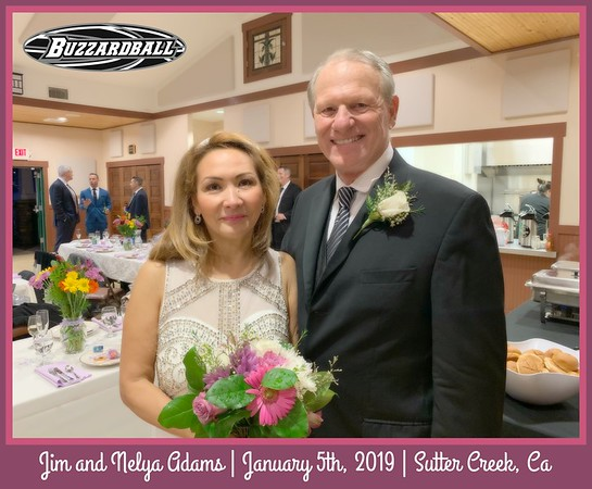 JANUARY 5TH, 2019 | Jim and Nelya Adams