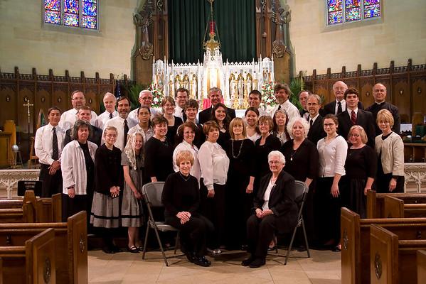 First Mass of Rev. Charles White IV - Pentecost 2009