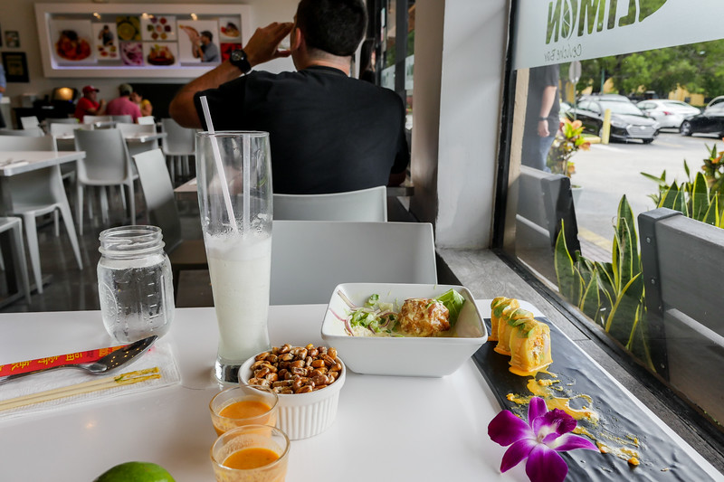 Leftovers at Dr. Limón Ceviche Bar in Kendall
