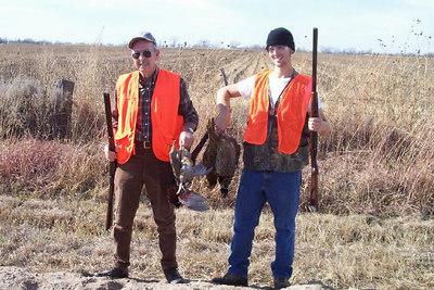 Travis' hunting trips with Grandad