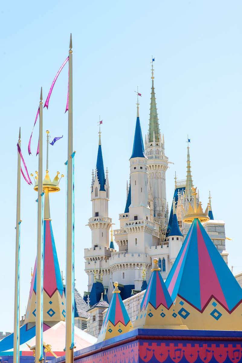 Cinderella Castle at Walt Disney World Magic Kingdom